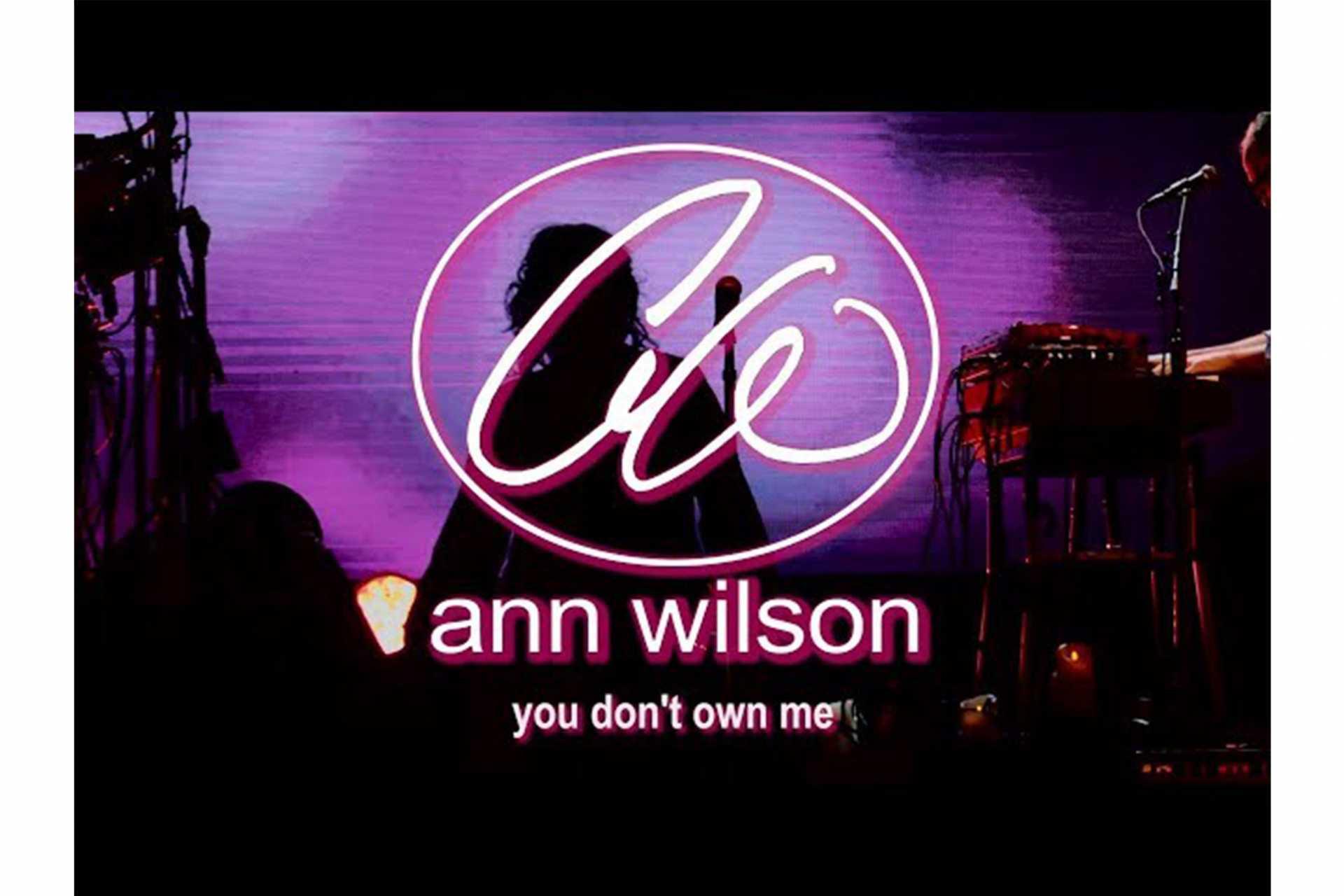 ハートのアン・ウィルソンが「You Don't Own Me」のミュージック・ビデオを公開