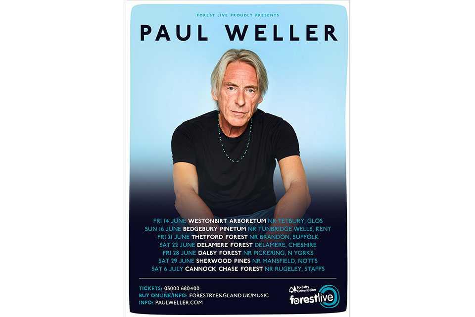 ポール・ウェラーが2019年のサマー・ツアーを発表