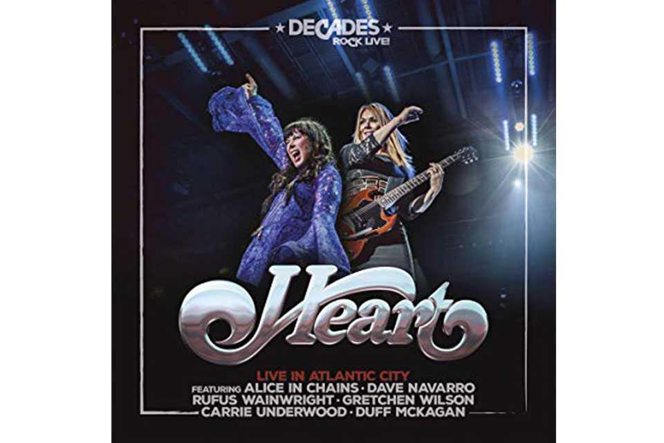 ハートが2006年のライヴを収録したアルバム「Live in Atlantic City」をリリース
