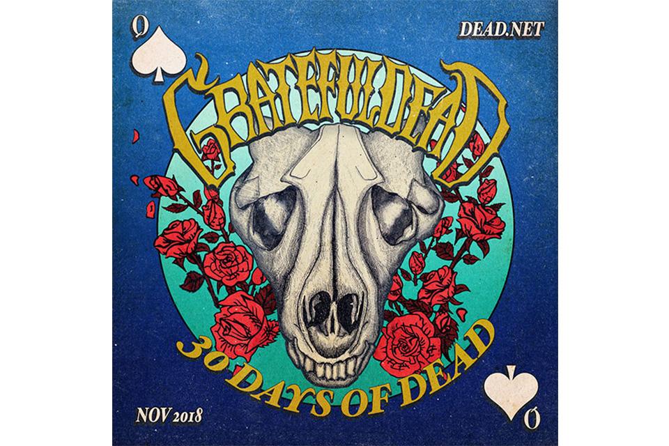 毎年恒例のグレイトフル・デッド「30 Days Of Dead」がスタート
