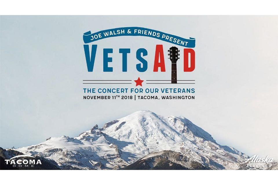ジョー・ウォルシュの〈VetsAid〉コンサート、舞台裏映像が公開