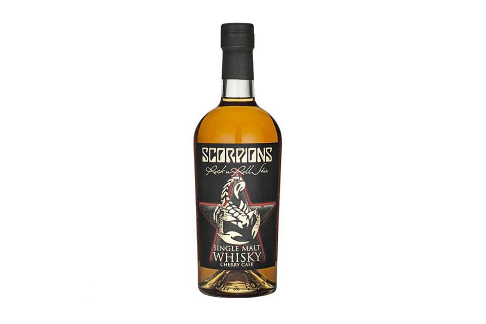 スコーピオンズがオリジナル・ブランドのウィスキーを発売