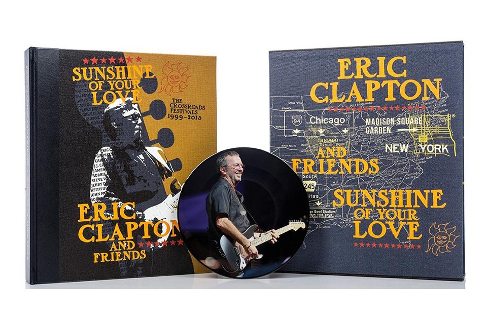 エリック・クラプトンによるチャリティー・コンサート『クロスロード・フェスティヴァル』の全シーンを記録した写真集が発売!