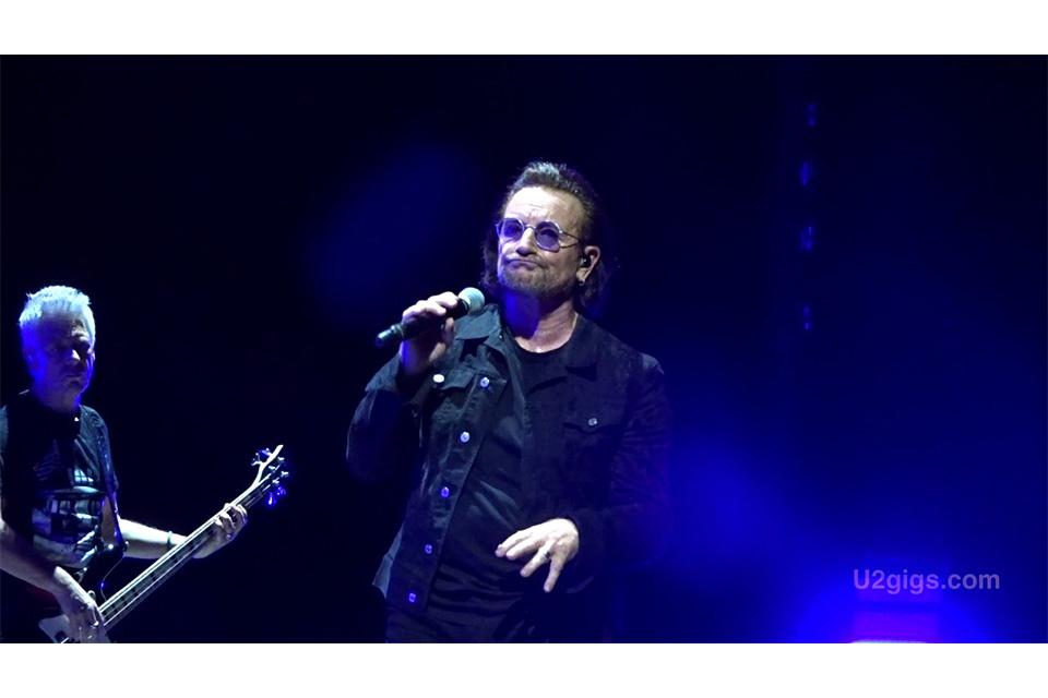 U2が25年ぶりに「Dirty Day」を披露