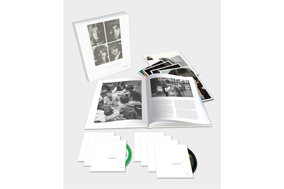『ザ・ビートルズ(ホワイト・アルバム)』50周年記念盤、オリコンデイリーランキング2日連続1位、週間ランキングでは6位獲得。ハイレゾでも1位に
