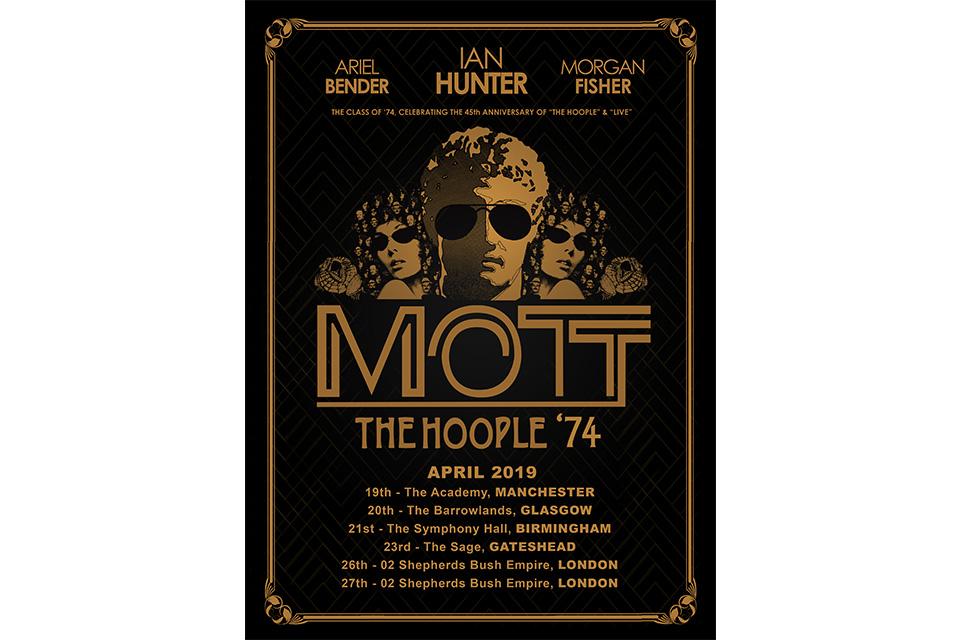 モット・ザ・フープルが2019年のUKツアーを発表