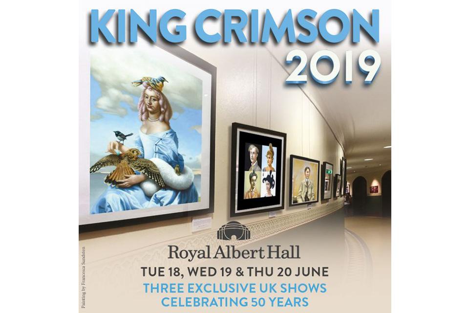 キング・クリムゾンがロイヤル・アルバート・ホールでの公演日程を発表