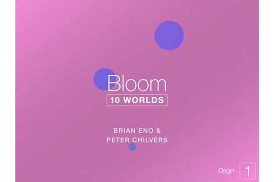ブライアン・イーノが新しい音楽アプリ『ブルーム:10ワールズ』を発表