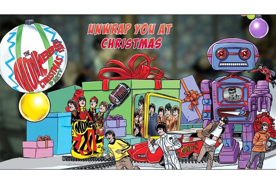 モンキーズ初のクリスマス・アルバムから「Unwrap You at Christmas」のリリック・ビデオが公開