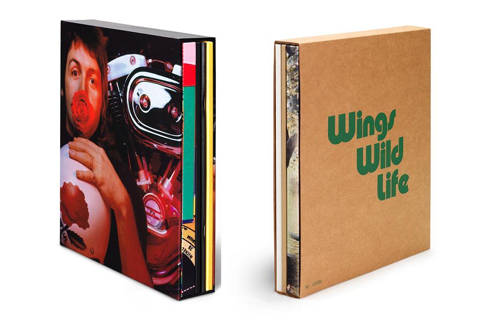 ポール・マッカートニー&ウィングスの『ワイルド・ライフ』『レッド・ローズ・スピードウェイ』デラックス・エディションのボックスセット開封映像が公開