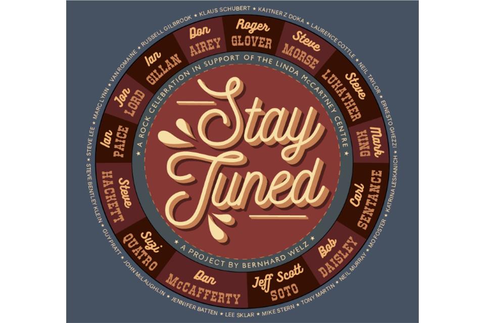 ディープ・パープル、スティーヴ・ルカサー、スージー・クアトロら大物アーティストが参加したチャリティ・アルバム「Stay Tuned」発売