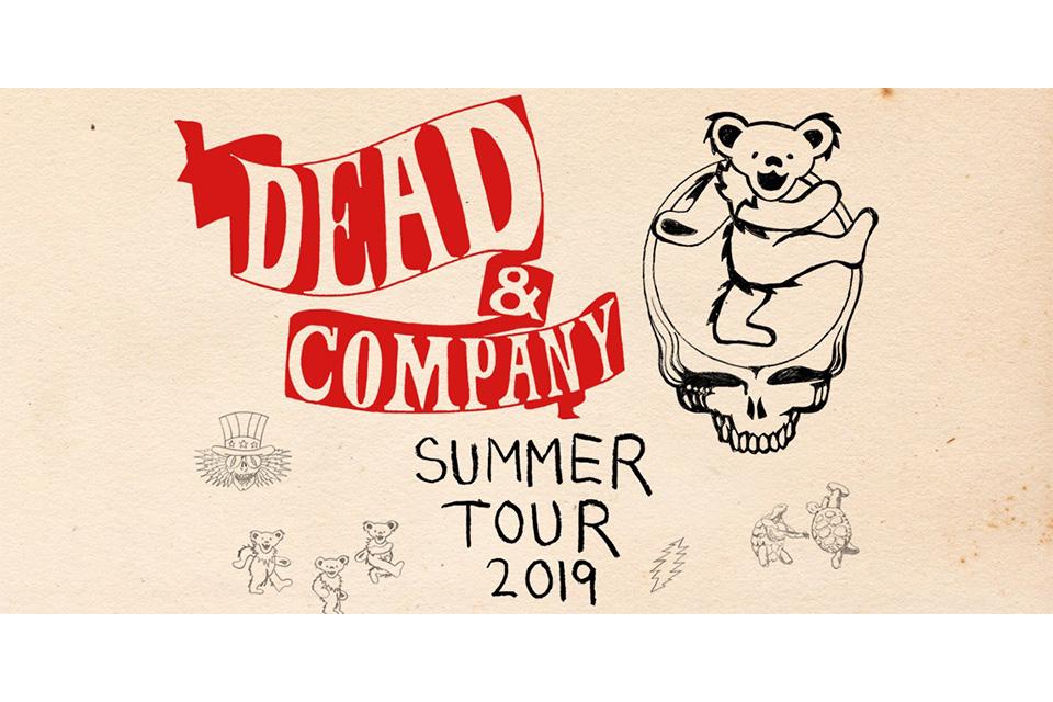 デッド&カンパニーが2019年の全米ツアーを発表