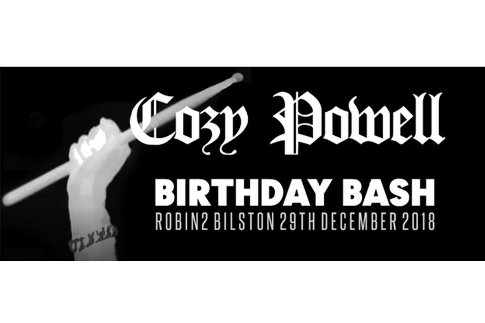 コージー・パウエルのトリビュート・コンサートがパウエルの誕生日に