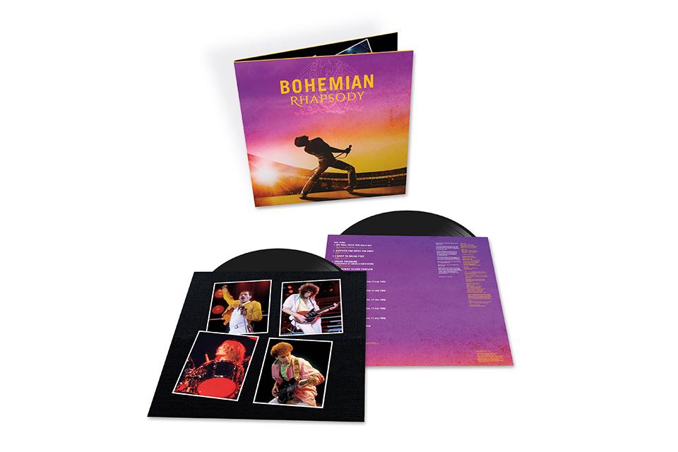 大ヒット映画『ボヘミアン・ラプソディ』のサントラ盤LPが発売決定。7インチ・シングル付きの限定盤も発売に