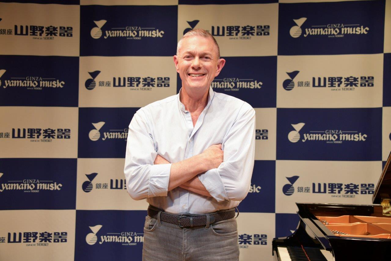 リチャード・カーペンター、来日イベントで日本のファンに御礼
