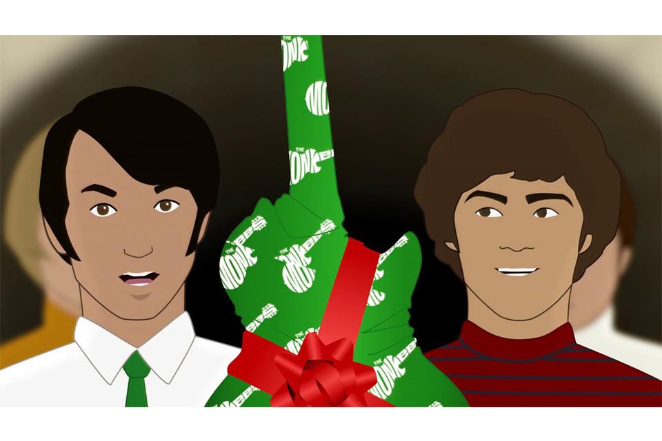 モンキーズのクリスマス・アルバムから「クリスマス・ソング」のミュージック・ビデオが公開