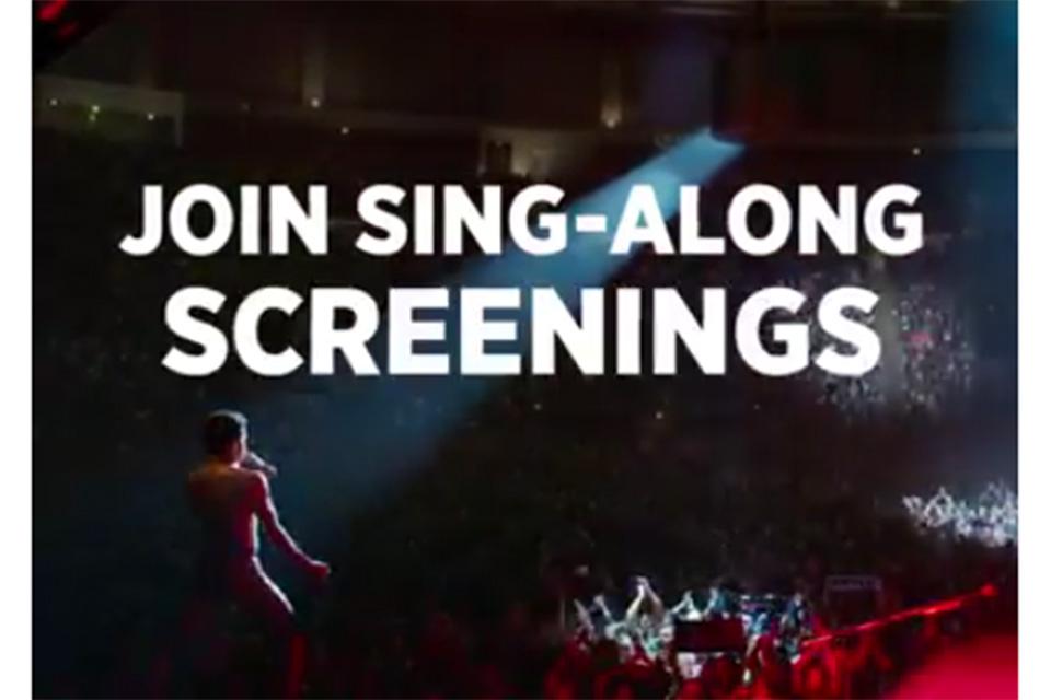 映画『ボヘミアン・ラプソディ』と一緒に歌える新しいヴァージョンが北米の劇場で公開