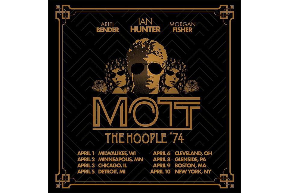 モット・ザ・フープルが45年ぶりのUSツアーを発表