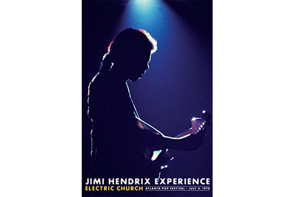ジミ・ヘンドリックスのドキュメンタリー『エレクトリック・チャーチ』が劇場公開
