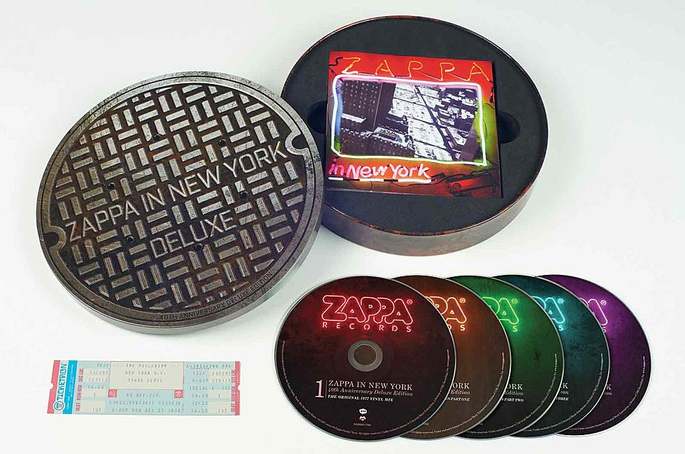 フランク・ザッパの『Zappa in New York』が発売40周年を記念してリイシュー