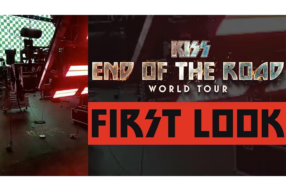 KISSのフェアウェル・ツアー、ステージ制作の舞台裏を撮影したビデオが公開
