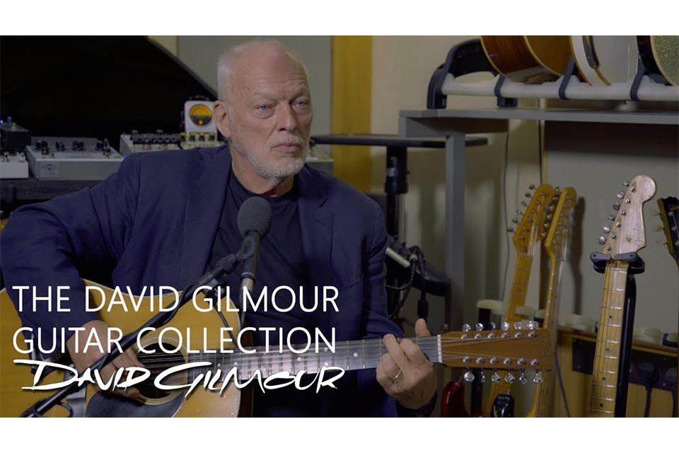 デヴィッド・ギルモアがチャリティのために120本以上のギターをオークションに