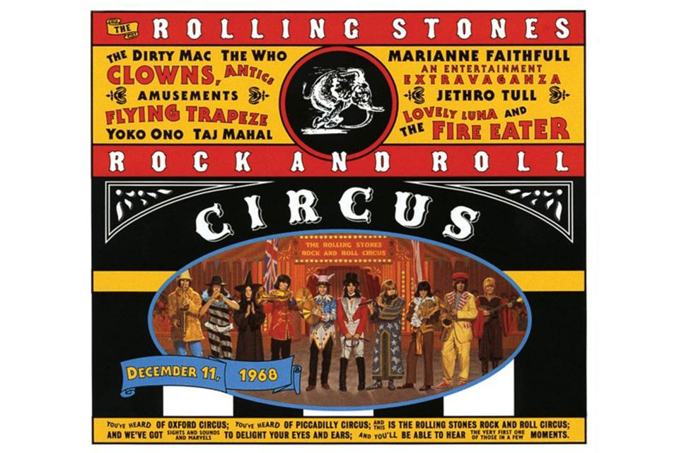 ローリング・ストーンズの『ロックンロール・サーカス』が初めてアナログ盤でリイシュー
