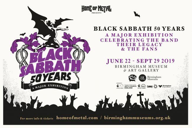 『ブラック・サバス展』がバーミンガムで開催