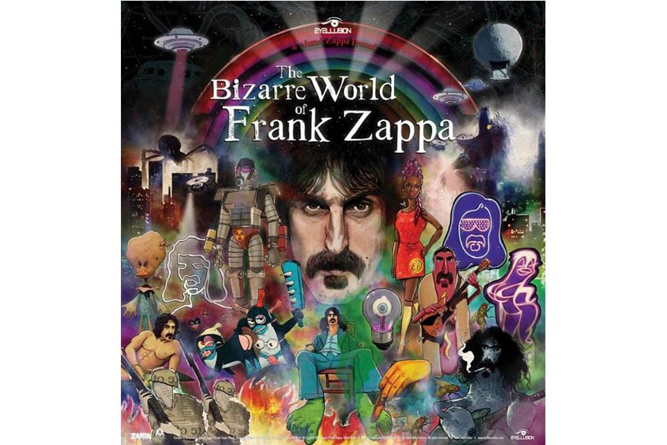 フランク・ザッパのホログラム・ツアーが4月にスタート