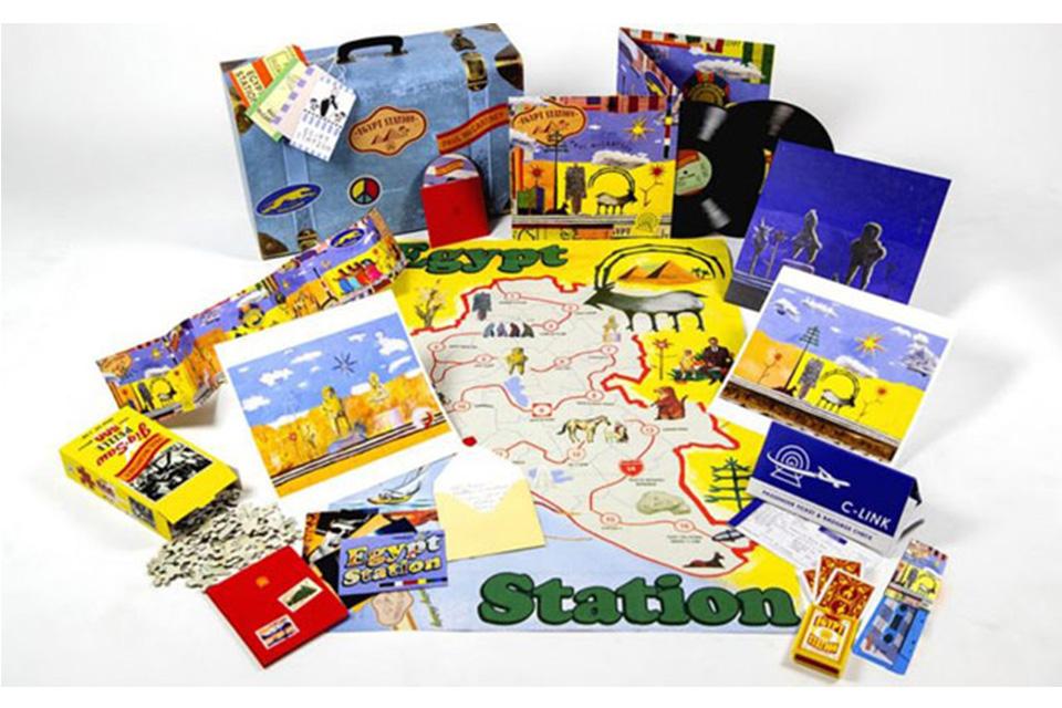 ポール・マッカートニーの『エジプト・ステーション』限定ボックスセットが発売