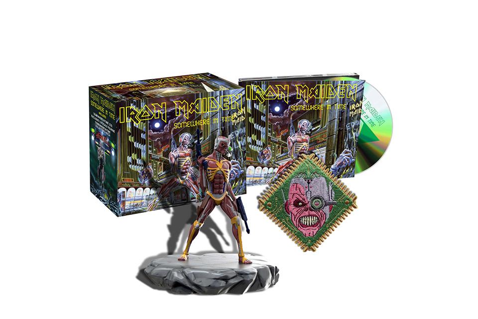 アイアン・メイデン、最新リマスター音源採用のザ・スタジオ・コレクション・リマスタード第二弾が3月22日に海外で発売決定!