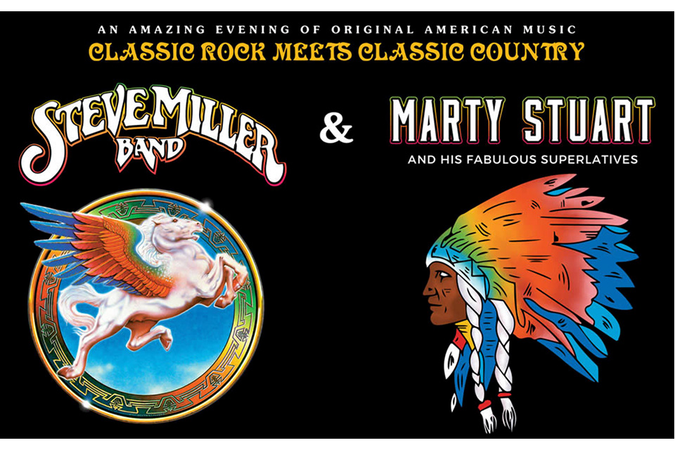 スティーヴ・ミラー・バンドがマーティ・スチュアートとサマー・ツアー