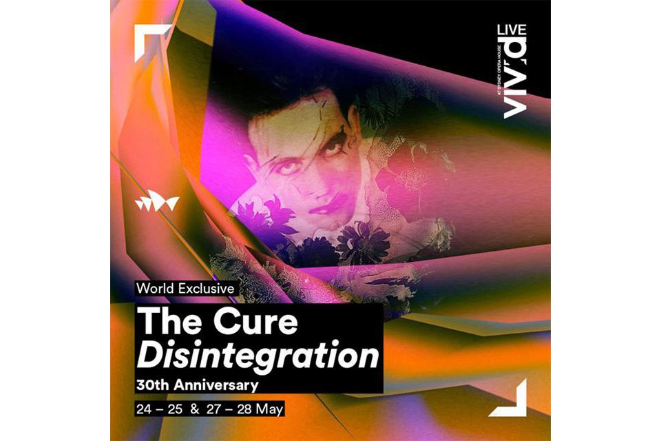 ザ・キュアーがアルバム『Disintegration』の30周年記念公演を発表