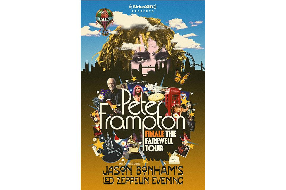 ピーター・フランプトンがフェアウェル・ツアーを発表