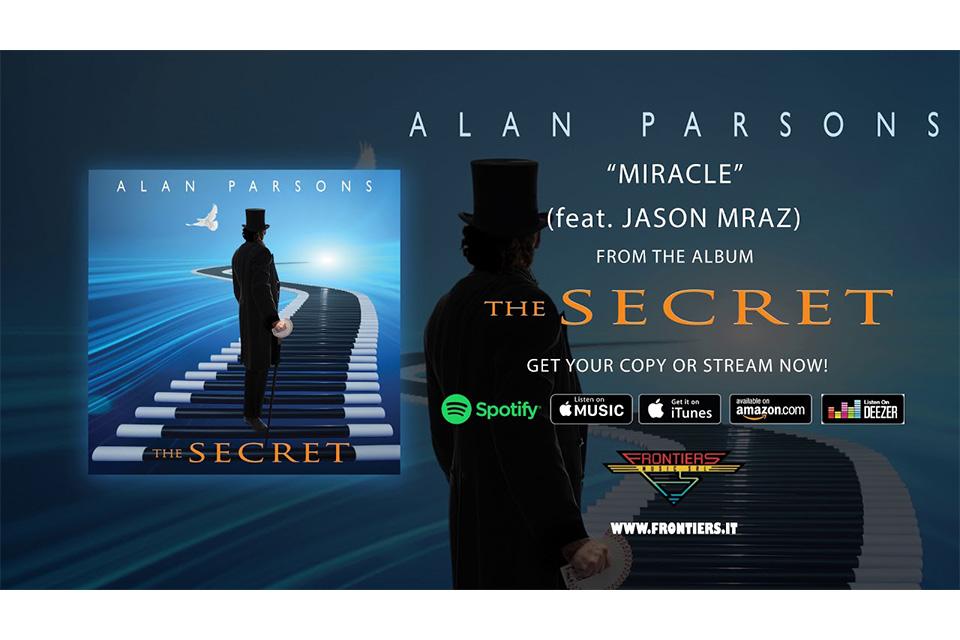 アラン・パーソンズの新作から「Miracle」のオーディオ・ビデオが公開