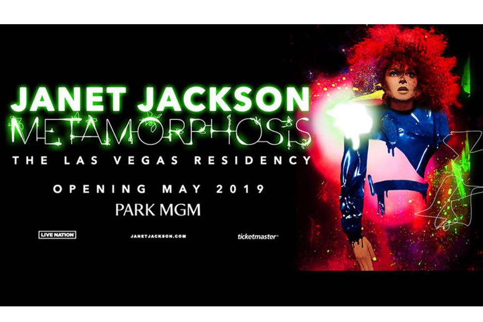 ジャネット・ジャクソンがラスベガスで初レジデンシー公演