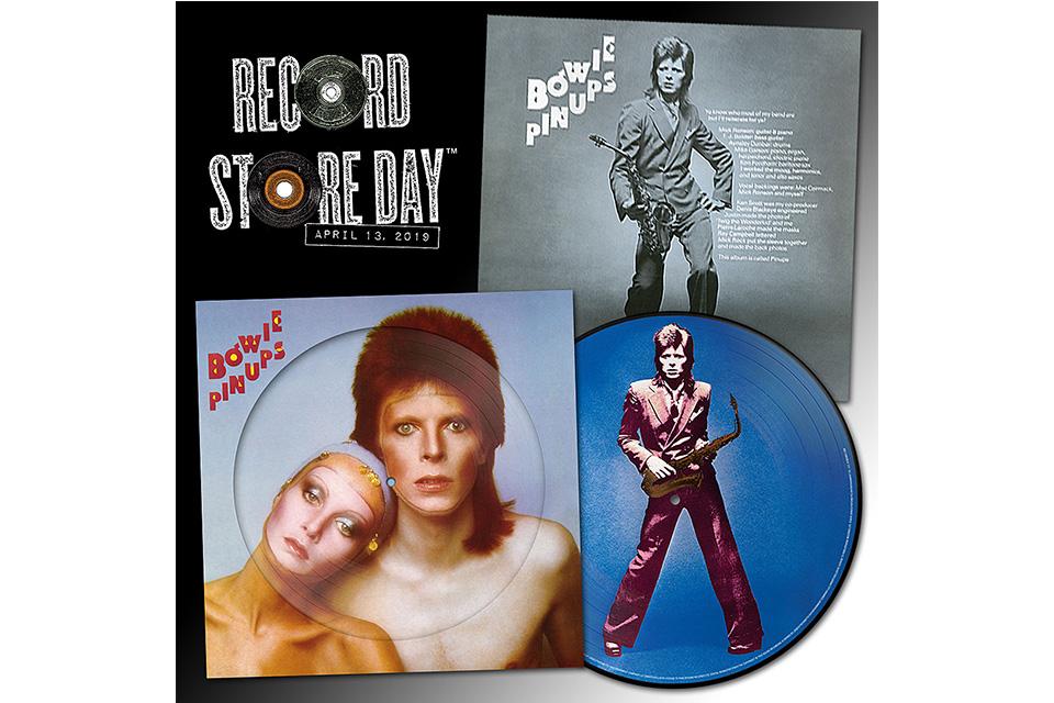 今年の〈レコード・ストア・デイ〉にボウイとピンク・フロイドの作品がリリース