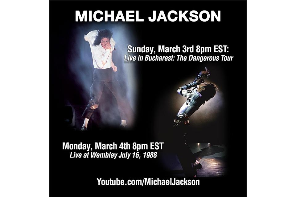 マイケル・ジャクソンの遺産管理団体がドキュメンタリーのテレビ放映に対抗し、マイケルのライヴ映像を公開
