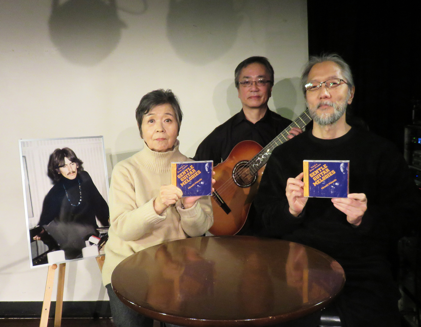 『GENTLE GUITAR MELODIES~A Tribute to George Harrison~』 発売記念 星加ルミ子×藤本国彦トーク&益田 洋ライヴ・イベント・レポート PART.2