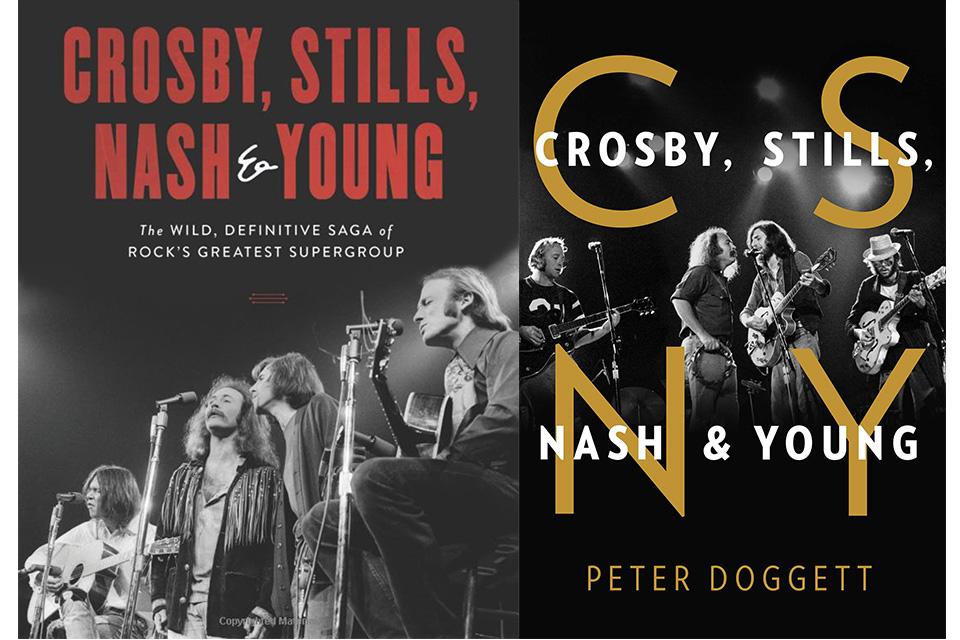 クロスビー、スティルス、ナッシュ&ヤングの新しいバイオグラフィーが2冊出版