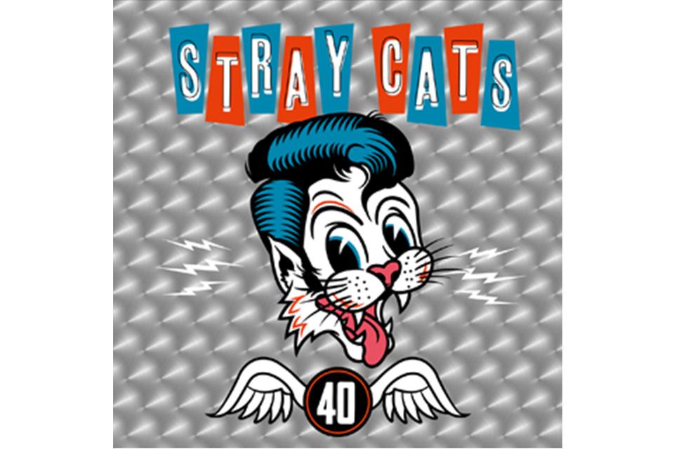 ストレイ・キャッツがデビュー40周年を記念したニュー・アルバムとツアーを発表