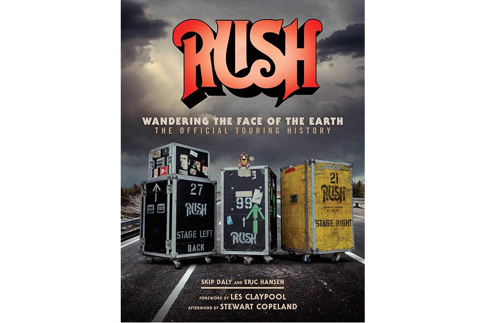 ラッシュのツアー・ヒストリーを記録した新しい本が発売