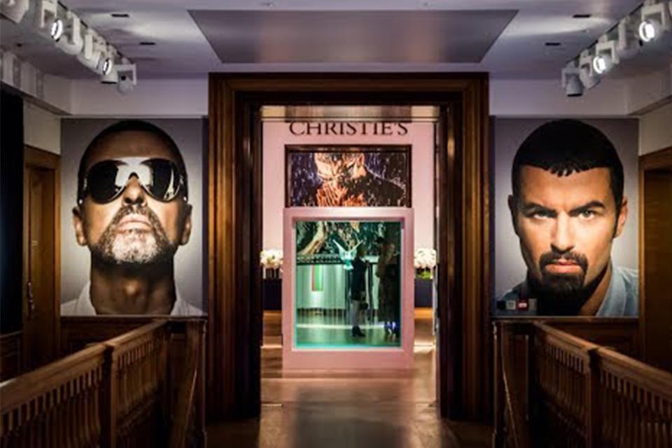 故ジョージ・マイケルのアート・コレクションが総額1,100万ポンドで売却