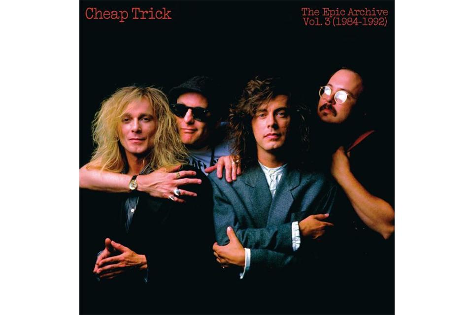 チープ・トリックのレアな音源を収録した『The Epic Archive Vol. 3 (1984-1992)』がCDで発売