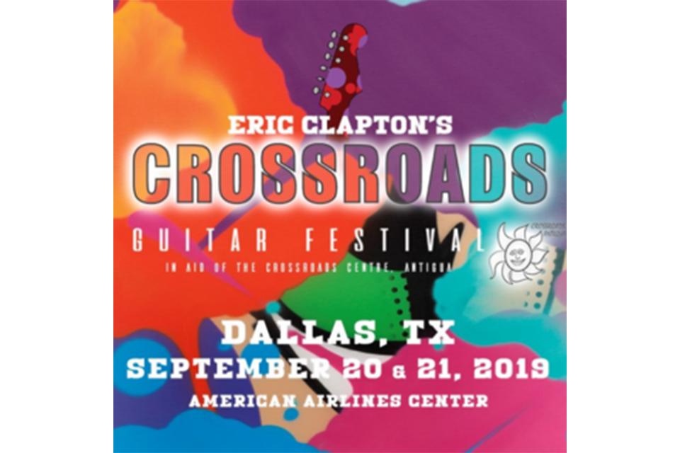 エリック・クラプトンが今年の「クロスローズ・ギター・フェスティバル」を発表