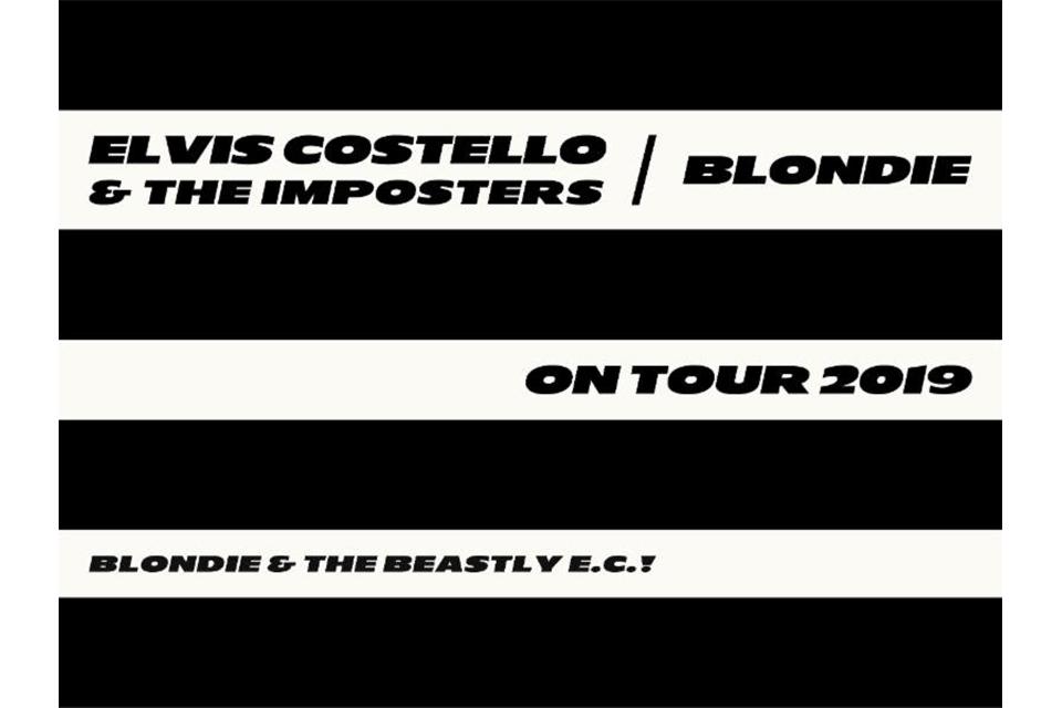 エルヴィス・コステロとブロンディがジョイント・ツアー