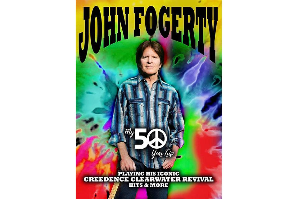 ジョン・フォガティがワールド・ツアーの日程を発表
