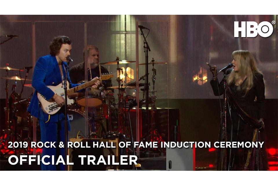 「ロックの殿堂」入りセレモニー、HBOが特番の予告編を公開