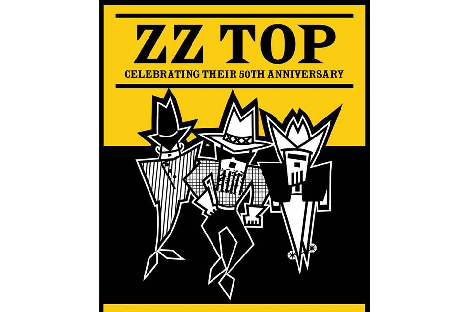 ZZトップが50周年記念ツアーの新たな日程とゲストを発表