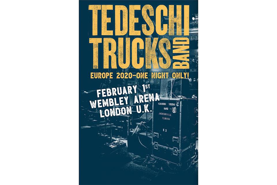 テデスキ・トラックス・バンドが来年のウェンブリー・アリーナ公演を発表